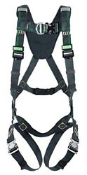 Msa Safety 10164024 Evotech Arc Flash Full Body Harness With Back Chest And Hip