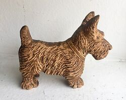 Vintage Scottie Scottish Terrier Dog Figurine