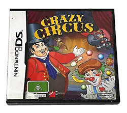 Crazy Circus Nintendo Ds 2ds 3ds Game Complete