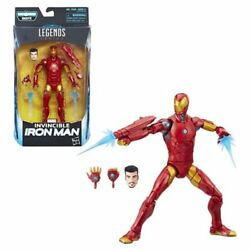 Black Panther Marvel Legends 6-Inch Invincible Iron Man Action Figure In Stock!