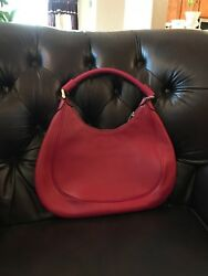 Red Pink Hobo Bag Brooks Brothers