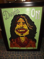 Steven Tyler Homemade Recycled Tires Art Large One Of A Kind