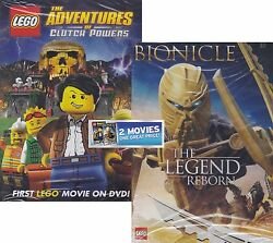Lego Double Feature: Bionicle The Legend Reborn  Adventures of Clutch Powers