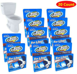 20 Tabs Homenite Automatic Toilet Bowl Cleaner Bleaches And Blue Total 10 Pks