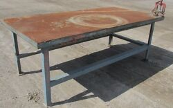 Steel Work Bench Welding Table Pipe Vise 4'x8'x35-1/2 2482wvs