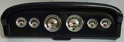 61-66 Ford Truck Carbon Dash Carrier W/ Auto Meter American Muscle Gauges