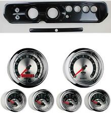 65 Chevelle Carbon Dash Carrier W/ Auto Meter 3-3/8 American Muscle Gauges