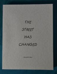 The Street Has Changed Ronald Allen Historical Homes Knoxville Tennessee 2003 Pb