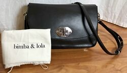 Bimba y Lola - Black Leather Handbag $180.00