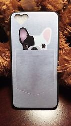 Iphone 6 6s Case Bulldog full coverage Soft plastic shell