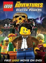 New DVD LEGO: The Adventures of Clutch Powers Movie W Free Shipping!