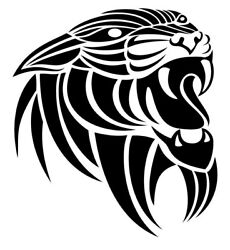 Tribal Panther On High Quality Decals Sticker Buy 2 Get 1 Free Automatically