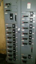 motor control panel with 19 starter controls. Great shape and could be split.