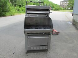 GAS 6 BURNER RANGE WITH SALAMANDER