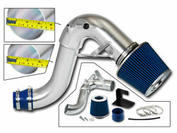 3.5 Blue Heat Shield Cold Air Intake + Filter For 2011-2015 Optima 2.0l Turbo