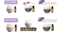 doTERRA Home Essential Oil New Sealed 100% Authentic with doTerra Petal Diffuser