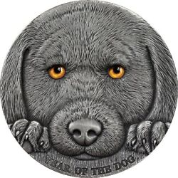 Cameroon 2018 3000 Francs Year Of The Dog Chinese Lunar Calendar 3oz