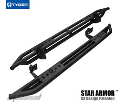 Tyger Star Armor Side Step Nerf Bars Fit 04-08 Ford F150 Supercrew Cab