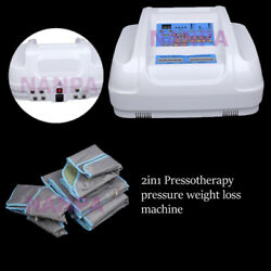 Pressotherapy Air Wave Pressure Suit Lymphatic Detox Body Slim Fitness Machine