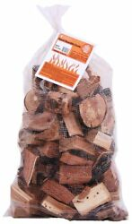 Pecan Wood Cooking Chunks- BBQ Wood Chunks for Grilling and Smoking- Large Bag