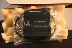 Camelot Technology Excaliber Powered S-video Cable - New