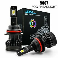 JDM ASTAR 2x Xenon White 9007 HB5 LED Headlamps High Low Dual Beam Bulbs 10000LM