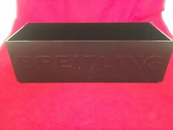 Breitling Watch Dealer Stackable Storage Box -perfect For Collectors Warranty