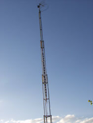 Antenna Tower Trailer extends to 40'