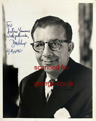 Dore Schary - Photograph - Signed - Boys Town - Singin' In The Rain - Fdr - Aa