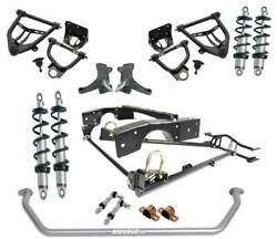 RideTech 63-70 Chevy C10 Coil Over Suspension System Control Arm Kit Sway Bar
