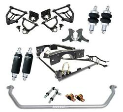 RideTech 11340298 63-70 Chevy C10 Air Suspension System Control Arm Kit Sway Bar