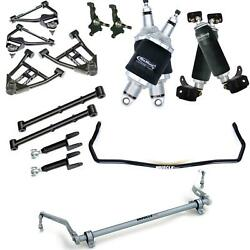 RideTech 68-72 Chevelle A-Body Air Suspension Kit Control Arms Sway Bar 11240298