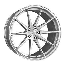 19 Vertini Rf1.3 19x9.5 Silver Forged Concave Wheels Rims Fits Audi B8 A4 S4