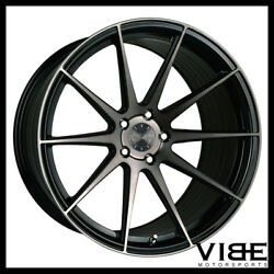 22 Vertini Rf1.3 Black Forged Concave Wheels Rims Fits Dodge Challenger Rt Se