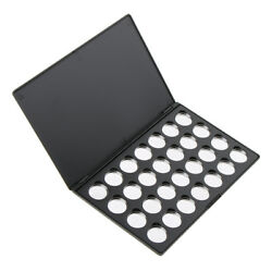Diy Empty Magnetic Palette Box Eyeshadow Powder Makeup Case With 28 Tin Pans