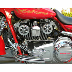 Love Jugs Polished Stainless Cool-master Harley Cooling Fans And Frame Mount Kit