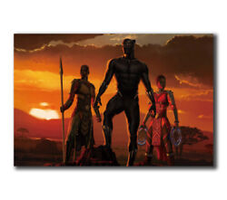 T-761 Art Poster Black Panther Movie 2018 Marvel Hot Silk 24x36 27x40IN