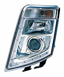 Xenon Led Headlight Front Lamp White Left Fits Volvo Fh Truck Tractor 2009-
