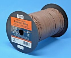 Deka 16 Awg Brown Gxl Cross-linked Polyethylene Wire 125anddegc 100 Ft Made In Usa