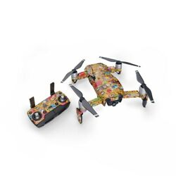 DJI Mavic Air 1 Wrap Psychedelic by JThree Concepts Sticker Skin Decal