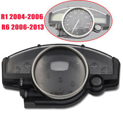 Speedometer Cover Tachometer Gauge Case For Yamaha Yzf R1 2004-2006 R6 2006-2013