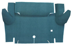 1965-1966 Ford Mustang Trunk Mat - Loop | Fits Coupe Trunk Kit Floor Only