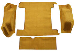 1966-1973 Ford Bronco Carpet Replacement - Cargo Area - Loop | Fits 2 Gas Tanks