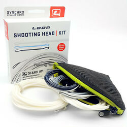 Loop Tackle Scandi Sds Shooting Head Kit - Interchangeable Fly Fishing Line