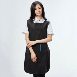 Tabard Apron Hair Salon Pet Shop Uniform Pullover Work Clothes Adjustable Button