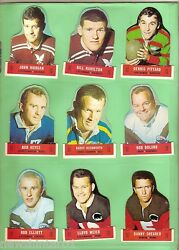 T12. 1969 Scanlens Rugby League Diecut Card Set18, Popped