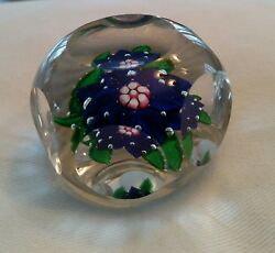 Rare Antique Boston And Sandwich Glass Co.paperweight-mid 1800s