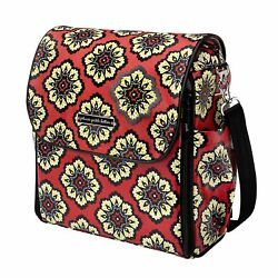 Petunia Pickle Bottom Boxy Back Pack Diaper Bag in Lively Lima