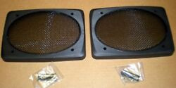 6x9 Extra Deep Speaker Grills Screens Covers, Black, 1 Pair = 2 Auto Home Boat