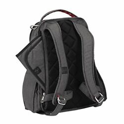 Ju-Ju-Be Onyx Collection Be Right Back Backpack Diaper Bag Chrome